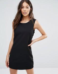 Маленькое черное платье Unique 21 - Черный