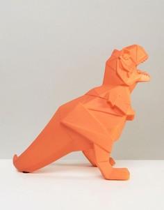 Светильник-динозавр в стиле оригами House of Disaster - Оранжевый