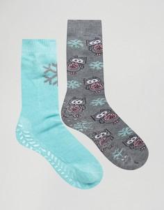 Две пары носков Tote - Мульти Totes