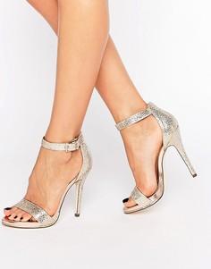 Золотистые сандалии на каблуке Call It Spring Sheren - Золотой