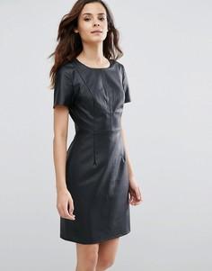 Платье с перфорацией Sugarhill Boutique Betsy - Темно-синий