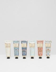 Набор кремов для рук Morris & Co Strawberry Thief 6 x 30 мл - Бесцветный Beauty Extras