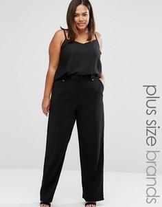 Строгие брюки Elvi Plus - Черный
