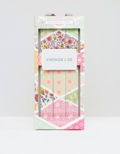 Набор из 3 полирующих пилочек для ногтей Vintage & Co - Бесцветный Beauty Extras