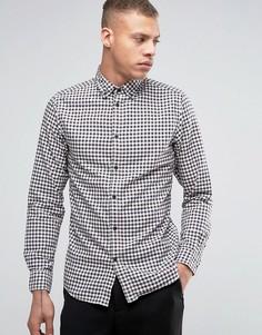 Рубашка в клеточку Selected - Белый
