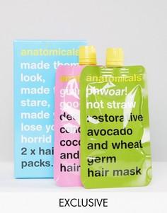 2 маски для волос Anatomicals эксклюзивно для ASOS - Бесцветный
