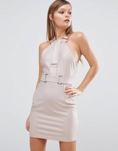 Платье мини Rare - Розовый
