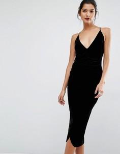 Платье миди Bec & Bridge Midnight Sage - Черный