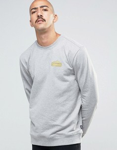 Patagonia Sweatshirt With Chest Logo In Regular Fit Grey - Серый