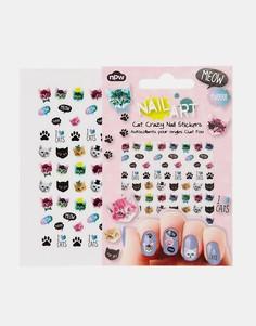 Наклейки для ногтей Cat Crazy - Мульти Beauty Extras