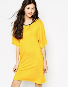 Платье-футболка Monki Namoi - Желтый