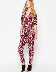 Комбинезон с абстрактным принтом Pepe Jeans - Красный