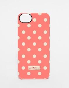 Чехол для iPhone 5 в горошек Cath Kidston - Розовый