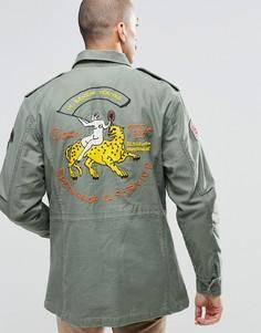 Куртка Deus Ex Machina M65 - Зеленый