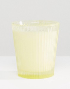 Свеча в стакане с ароматом орхидеи Capri Blue - Бесцветный
