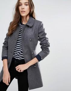 Расклешенное пальто Jack Wills Deramore - Серый