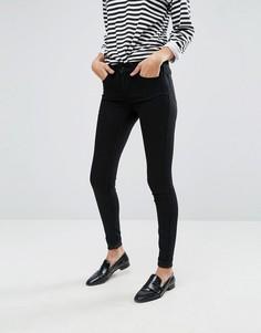 Зауженные джинсы Vila - Черный