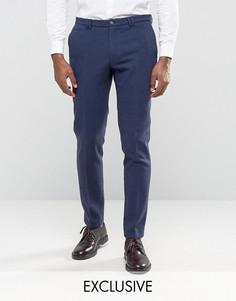 Зауженные брюки с отворотами Noak - Темно-синий