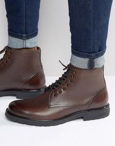 Ботинки на шнуровке Ted Baker Karusl - Коричневый