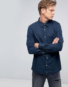 Синяя джинсовая рубашка Weekday Class OD-11 - Синий