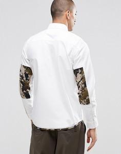 Рубашка классического кроя с камуфляжным принтом Carhartt WIP Buster - Белый