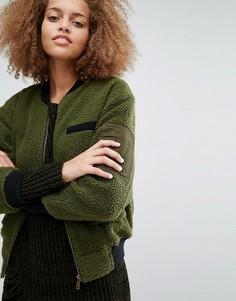 Куртка-пилот J.O.A Minimal - Зеленый