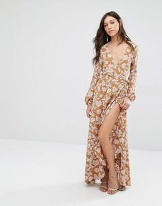 Платье макси Flynn Skye Monterry - Мульти