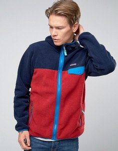 Patagonia Lightweight Snap T Hooded Fleece In Red - Красный