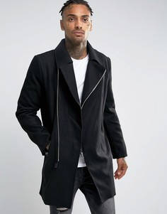 Пальто Criminal Damage - Черный