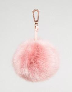Подвеска на сумку с помпоном Skinnydip - Розовый