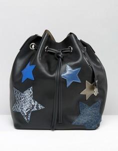 Сумка со звездой Nali - Черный