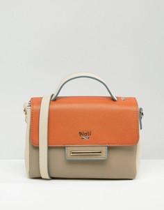 Миниатюрная сумка-тоут через плечо Nali - Оранжевый
