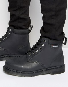 Ботинки с 6 парами люверсов Dr Martens 939 Thinsulate - Черный
