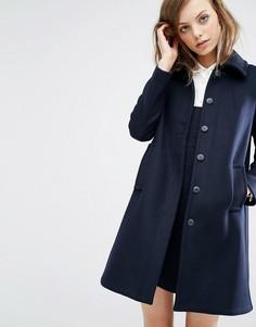 Пальто-бушлат Ba&sh Wish - Темно-синий Ba&Sh