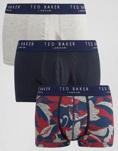Набор из 3 пар боксеров-брифов Ted Baker - Мульти
