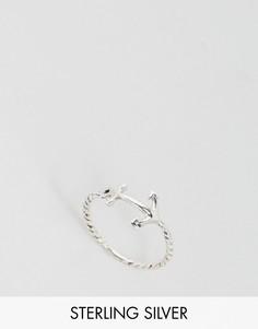 Серебряное кольцо с якорем Kingsley Ryan - Серебряный
