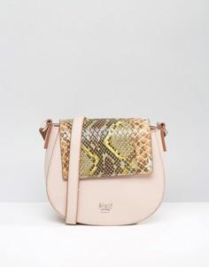 Розовая сумка со сменным откидным клапаном Nali - Розовый