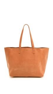 Объемная сумка с короткими ручками Baggu