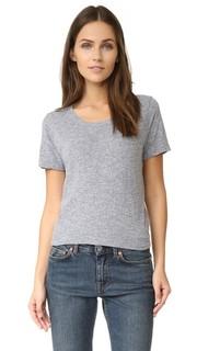Объемная футболка Basic из джерси в винтажном стиле Monrow