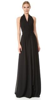 Платье-халат Amber с завязками уздечкой Joanna August