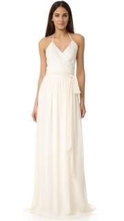 Платье-халат DC с завязками уздечкой Joanna August