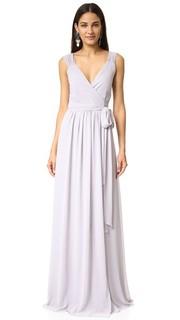 Платье Newbury запахом и короткими рукавами Joanna August