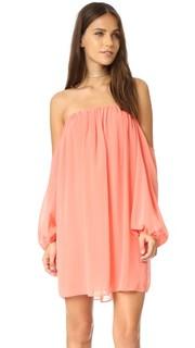 Платье с открытыми плечами Misa