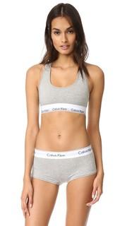 Современный хлопковый бюстгальтер без косточек Calvin Klein Underwear