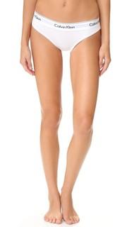 Современные трусики-бикини из хлопка Calvin Klein Underwear