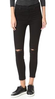 Укороченные джинсы Alana с высокой посадкой J Brand