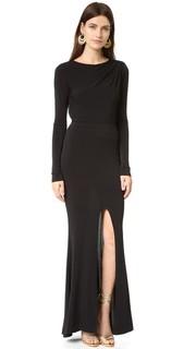 Вечернее платье с длинными рукавами Rachel Zoe