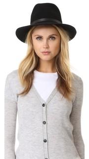 Фетровая шляпа с мягкими полями Rag & Bone