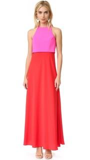 Двухцветное вечернее платье Jill Jill Stuart