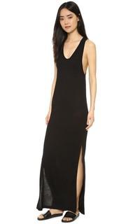 Классическое платье без рукавов с карманом T by Alexander Wang